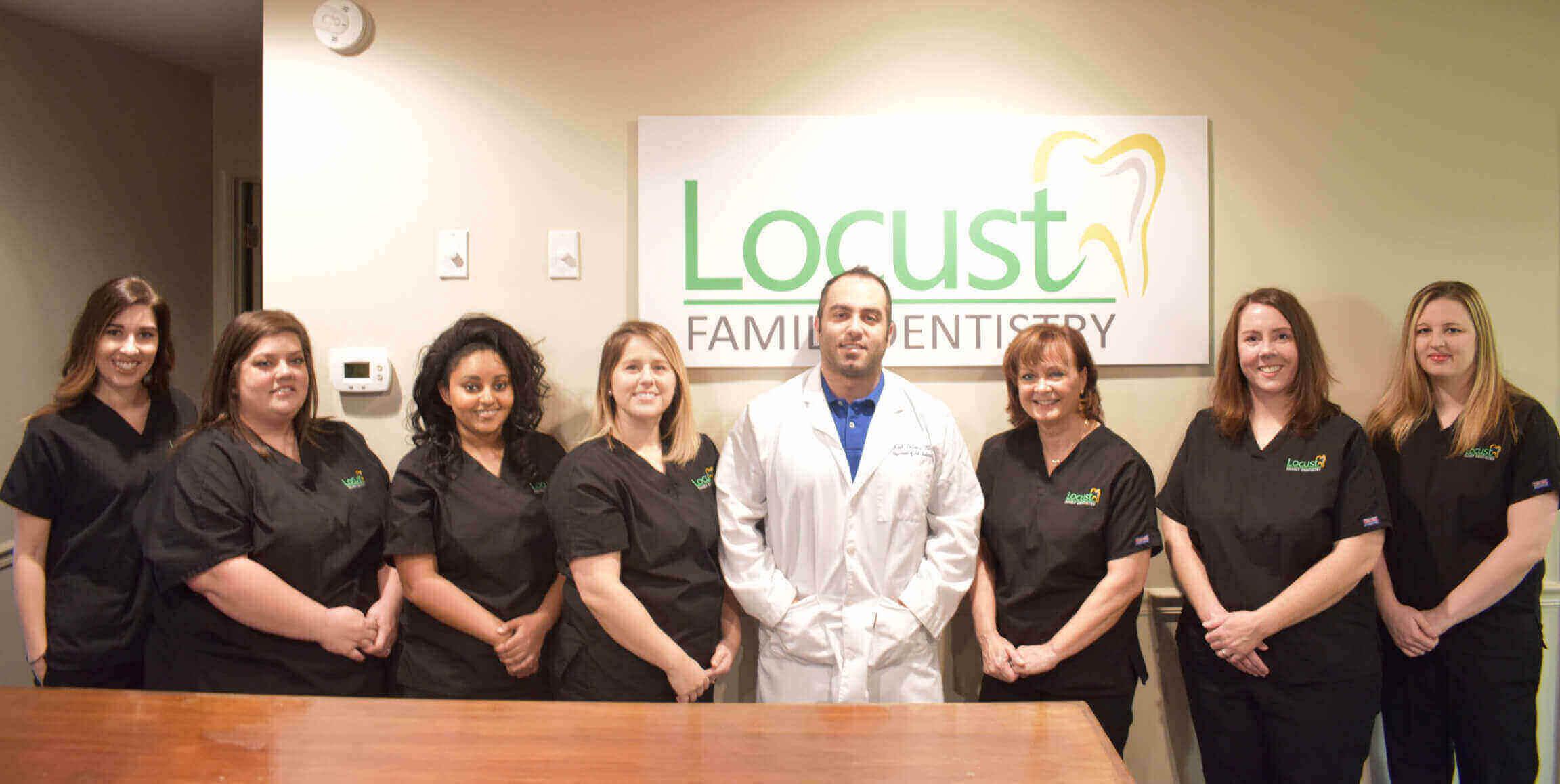 Image result for locust family dentistry team
